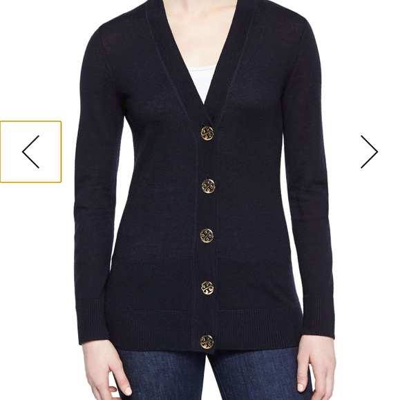 Tory Burch Sweaters - Tory Burch Simone Button-Front Cardigan